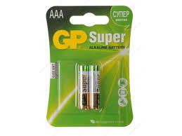 Купить <b>батарейку GP</b> Super Alkaline <b>24A LR03</b> AAA (2шт) по цене ...