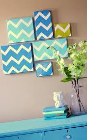 easy home decor idea: diy home decor wall diy modern chevron art home decor wall art ideas olpos design