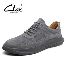 <b>CLAX Mens Shoes 2019</b> Spring Summer Male Sneakers Leather ...