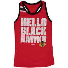 <b>Girls</b> Youth Chicago Blackhawks Reebok Red Princess Cut ...