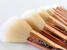 Image result for delanci makeup brushes rose gold