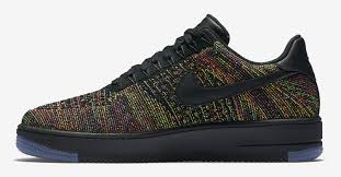 nike flyknit air force 1 black multicolor release date air force 1 flyknit