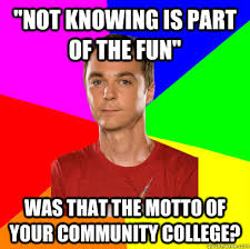 "Not knowing is part of the fun"" WAS THAT THE MOTTO OF YOUR ... via Relatably.com"