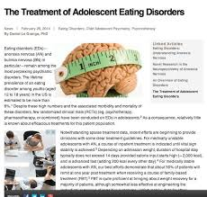 images about important articles for parents of children with  the treatment of adolescent eating disorders