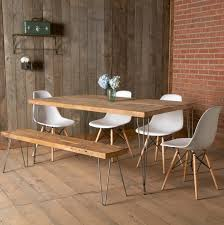 Teak Dining Room Chairs Bali Furniture Cozy Modern Untereated Wooden Dining Tables With