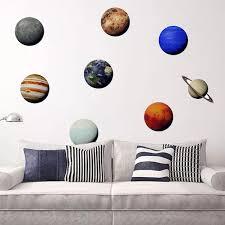 Buy <b>Wall</b> Stickers Modern Style <b>Universe</b> Planet <b>Wall</b> Decor & <b>Wall</b> ...