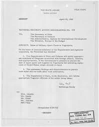 file national security action memorandum no s of military file national security action memorandum no 236 s of military spare parts to yugoslavia