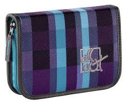 Купить <b>Пенал All Out 138328</b> Summer Check Purple 1отд. в ...
