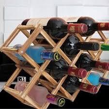 <b>Wooden Red Wine Rack</b> 10 Bottle Holder Mount Bar Display Shelf ...