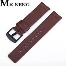 <b>Genuine Classic Leather Strap</b> For Xiaomi Huami Amazfit Bip 20mm ...