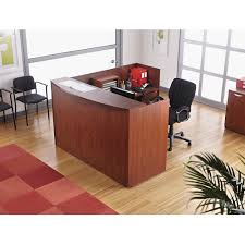 alera valencia series reception desk with counter 71w x 35 12d x 42 12h boss office products plexiglass reception