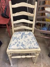 bird pattern chair pads