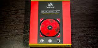 Обзор и тестирование <b>вентилятора Corsair ML140 PRO</b> LED Red ...