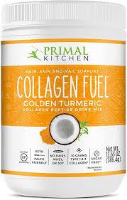 Primal Kitchen <b>Collagen Fuel Peptide</b> Drink Mix - Golden Tumeric ...