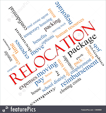 signs and info relocation word cloud stock illustration relocation word cloud concept angled great terms such as package moving expenses and more