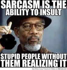 Sarcastic Memes on Pinterest | Comebacks Memes, Sarcasm Meme and ... via Relatably.com