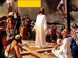 """Картинки по запросу ﹘ """"На Голгофу, на распятье Иисус идет, Капли крови по дороге из ран льёт. Ноги Божии на жертву, на страдания идут."""