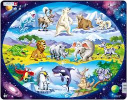<b>Larsen Пазл Планета животных</b>
