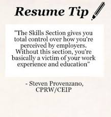 business skills that employers look for  notice they are primarily    resume tip  writing the perfect skills section