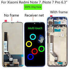 "<b>Original New</b> 6.3"" For <b>Xiaomi Redmi</b> Note 7 / Note 7 Pro LCD ..."