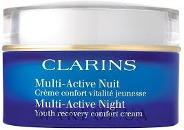 <b>Ночной крем</b> - <b>Clarins Multi</b>-<b>Active</b> Night Lightweight Youth ...