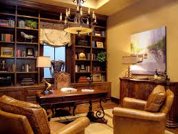 awesome dark brown wood glass cool design luxury home library wonderful modern ideas wall racks book awesome wood office desk classic