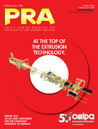 PRA October 2013 issue by Plastics & Rubber Asia - issuu