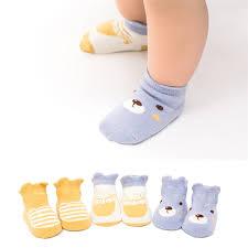 Lawadka <b>3Pairs lot Cotton</b> Cartoon Animal <b>Baby Socks Newborn</b> ...