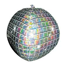 15in Holographic <b>Disco Balloon</b> | The Red Balloon Company