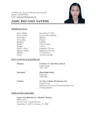 sample resume for undergraduate college students college undergraduate sample customer service resume dissertation