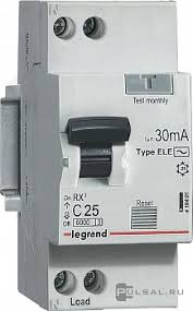 Автоматические <b>выключатели дифференциального тока Legrand</b>