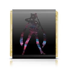 "Шоколадка 3,5×3,5 см ""Sailor Moon"" #2743139 от GeekFox - <b>Printio</b>"