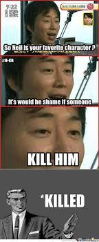 RMX] It Would Be A Shame (SPOILER ALERT) by rage_569 - Meme Center via Relatably.com