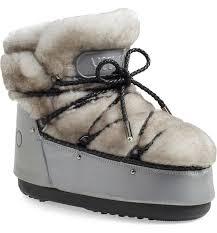 <b>Jimmy</b> Choo Genuine Shearling <b>Moon Boot</b>® (Women) | Nordstrom