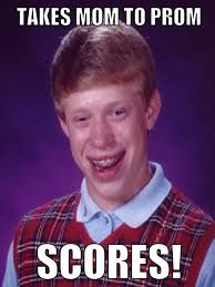 Bad Luck Brian Meme Person - bad luck brian meme person with bad ... via Relatably.com