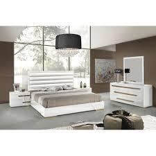 Modern Bedroom Set Furniture Modern Platform Customizable Bedroom Set Modern Queen Bed 3 Drawer