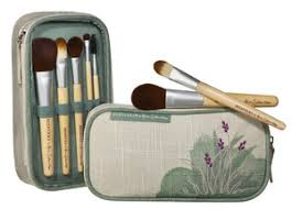 ecotools by alicia silverstone brush set bag
