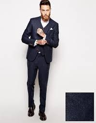 asos slim fit suit in herringbone brown perfect for a winter asos slim fit suit in herringbone in navy