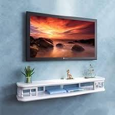 WiFi Router <b>Set Top</b> Box <b>Storage</b> Shelf <b>Wall</b>-<b>Mounted</b> TV Shelf Multi ...