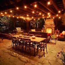 patio pergola amazing italian lights