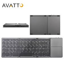 iClever <b>Keyboard folding Bluetooth</b> usb touch pad 3 devices can be ...