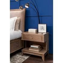 Hazel <b>1</b>-Drawer <b>Nightstand</b> | American Signature Furniture