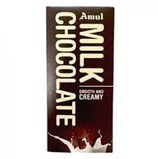 Amul <b>Smooth</b> and <b>Creamy Milk</b> Chocolate 150GM (PACK OF 2 ...