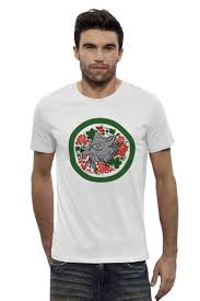 Футболка Wearcraft Premium Slim Fit <b>Зелёный мир</b> T-Shirt #2203366