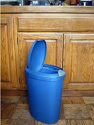 plastic kitchen garbage cans homes kitchen trash can trash can kitchen trash can
