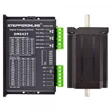 <b>1 Axis</b> Stepper <b>CNC Kit</b> 3.1Nm(439oz.in) Nema 24 Stepper Motor ...