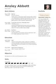 nanny resume samples   visualcv resume samples databasenanny resume samples