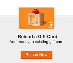HomeDepot gift cards