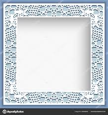 <b>Square</b> frame with <b>lace</b> border pattern Vector <b>Image</b> by ...