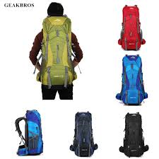 <b>70L Tactical Backpack</b> Waterproof Travel Hiking Backpack Outdoor ...